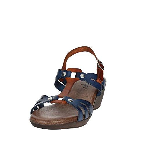 Femme Soft Cinzia IEL2012 Bleu Sandale 001 gWHTq
