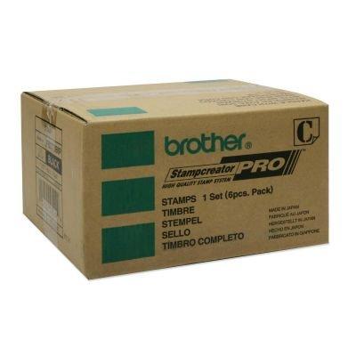 Brother PR-2770B6P Timbro Confezione da 6 Pezzi Nero