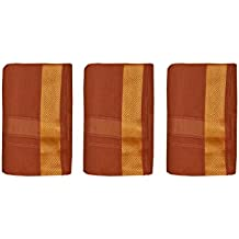 JISB cotton color dhoti, 3 piece combo pack offer