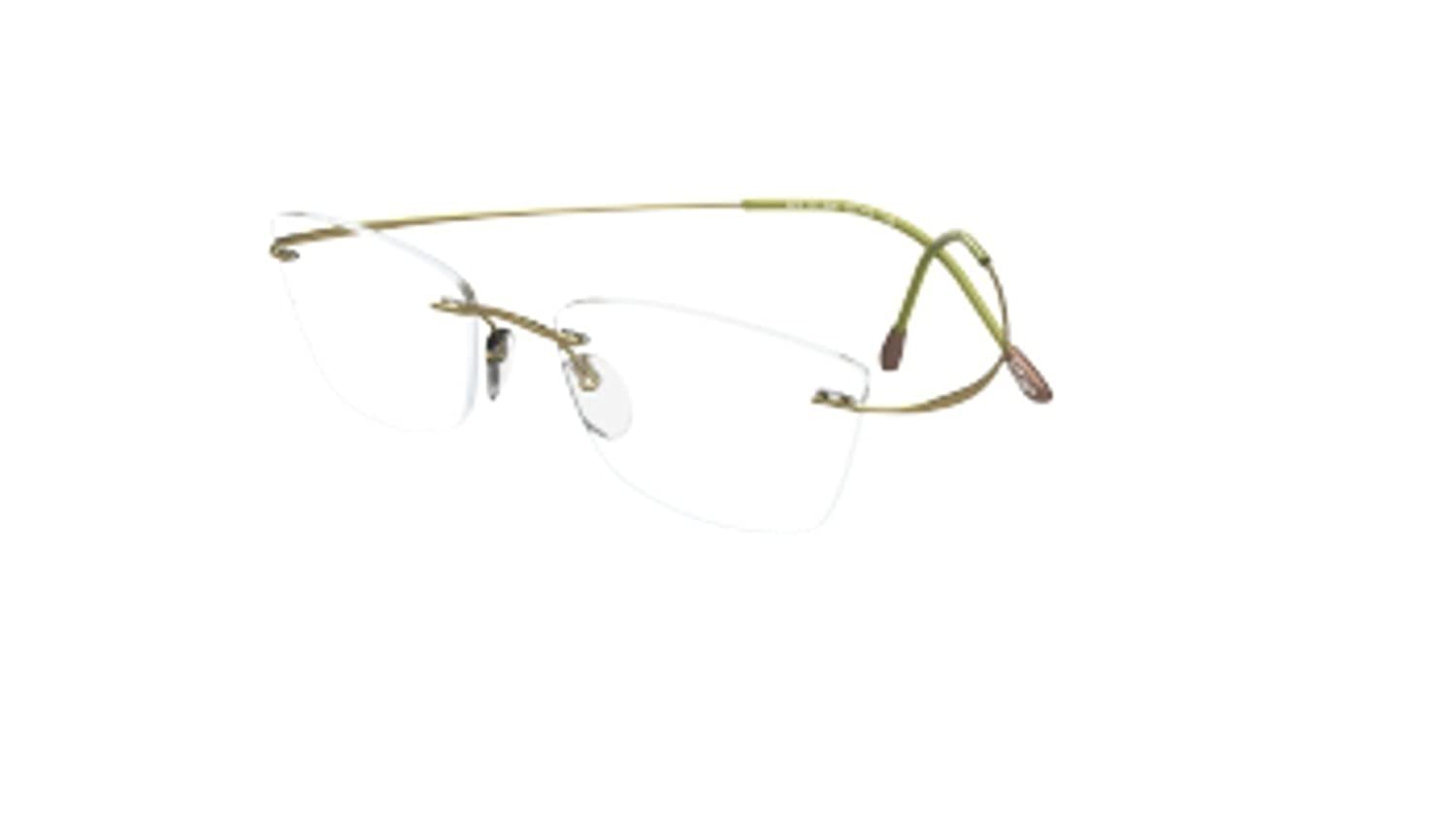 c02dc6d66dce Eyeglasses Silhouette TMA Must Collection 2017 (5515) 5540 moss 51/17/140 3  pi at Amazon Men's Clothing store: