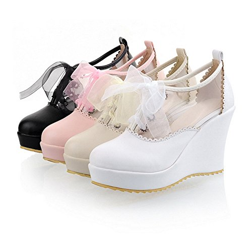 up black Plus Thick Size Sole Platform Style Lace Candy Shoes High Preppy Thin Color wBSIqPO