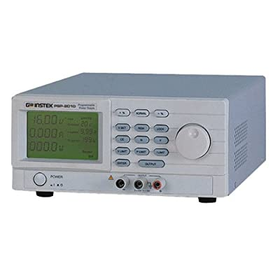 GW Instek PSP-603 LCD Display Programmable Switching DC Power Supply, 0-60 Volts, 0-3.5 Amps, 200W