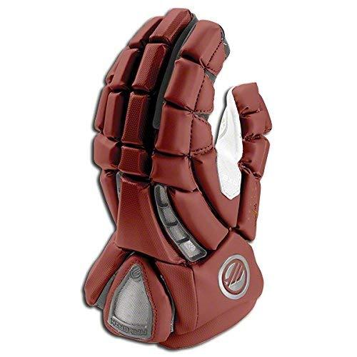 Maverik Lacrosse Men's Rome RX3 Glove, Grey, Large
