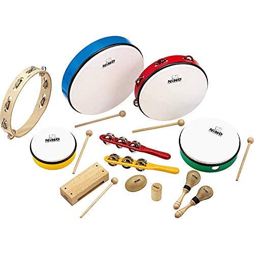 Nino Percussion NINOSET012 – Set de instrumentos de percusión (12 piezas)