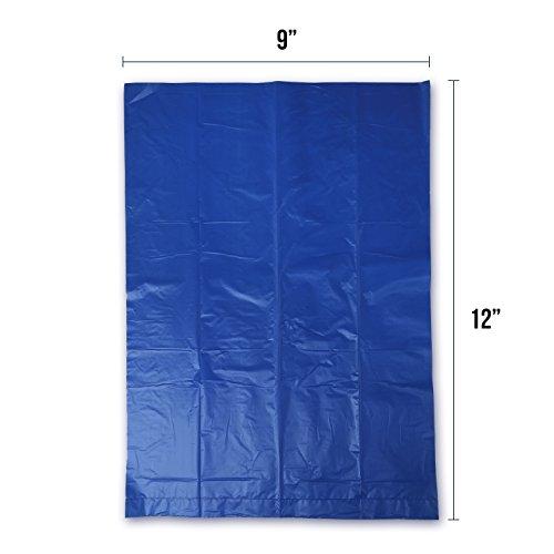 Gorilla Supply Dog Waste Bags, Blue, Unscented, EPI Additive (Meets ASTM D6954-04 Tier 1), 1000 Count