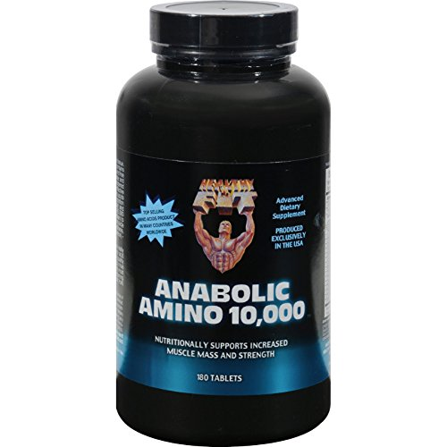 Healthy 'N Fit Nutritionals Amino 10000 – 180 Tablets For Sale