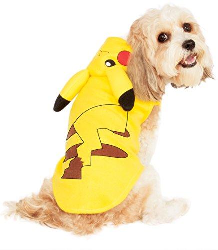 Pikachu Dog Costumes (Rubies Costume Pikachu Pet Hoodie, X-Large)