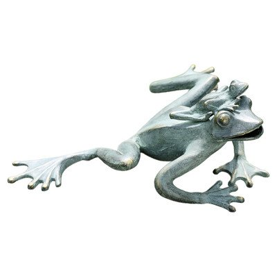 SPI Home 33590 Mama and Baby Garden Frogs Sculpture