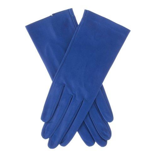 Lundorf Flora Women's Unlined Soft Gloves Danish Design 7.5 Ocean Blue
