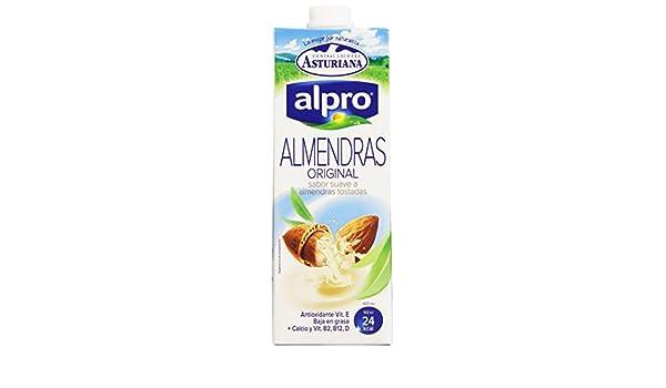 Alpro Bebida Almendras Original 1l - [pack de 4]: Amazon.es: Alimentación y bebidas