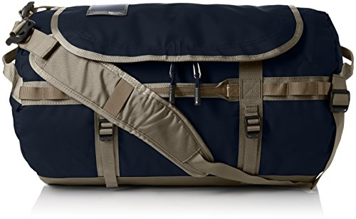 The North Face Base Camp Duffel Multifunktionsrucksäcke, Mehrfarbig (Urban navy/Crockery Beige), 50 L, S