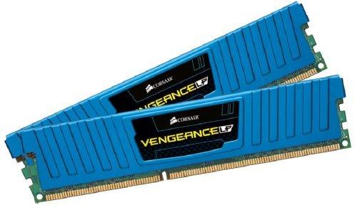 Corsair Vengeance LP Blue 16 GB (2x8 GB) DDR3 1600MHz (PC3 12800) Desktop Memory 1.5V by Corsair