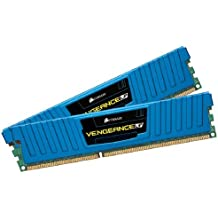 Corsair CML16GX3M2A1600C10B Vengeance LP Blue 16 GB (2x8 GB) DDR3 1600MHz (PC3 12800) Desktop Memory 1.5V