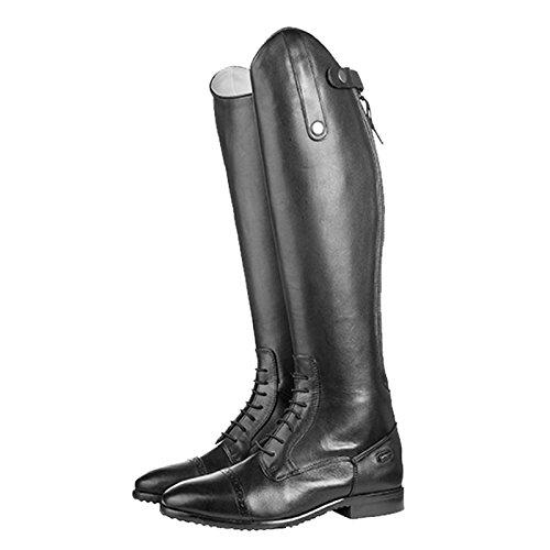 HKM–Botas de equitación Valencia Corto/Standard Alcance Negro - negro