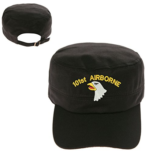 101st Airborne Screaming Eagle Military Cadet Army Hunter Castro Cap Hat
