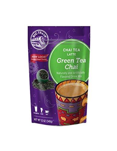 - Big Train Green Tea Chai, 12-Ounce Bags (Pack of 3)