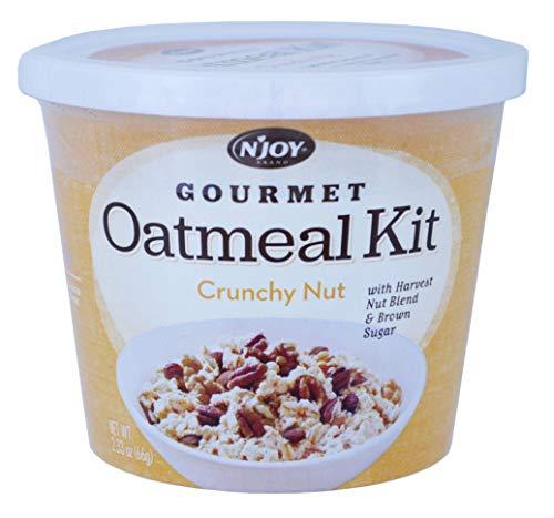 (Njoy Crunchy Nut Gourmet Oatmeal Kit, 2.33 Ounce -- 24 per case.)
