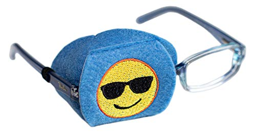 Eye Patch - Right Coverage Child Emoji Eye Glass Eye Patch from Patch Pals