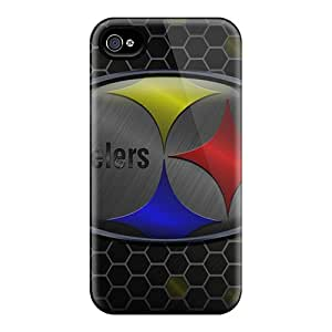 Shock Absorbent Hard Phone Covers For Iphone 6 With Customized Beautiful Pittsburgh Steelers Image RichardBingley