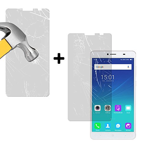[Pack of 2] Doogee Y6 Max - Y6 Max 3D Screen Protector - 9H Hardness High Definition Tempered-Glass Screen Protector BeCool.