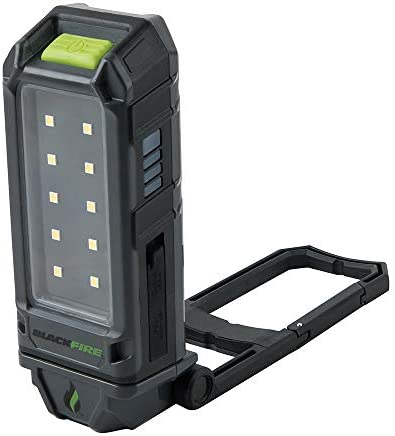 Blackfire WLMC1 Rechargeable Magnetic Personal Flood Work Light with 3250mAh Portable Battery Pack Function and Carabiner Clip
