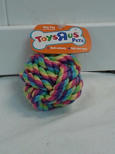 Toys R Us Pets CM Rope Ball (2 (Toys R Us Ball Dog)