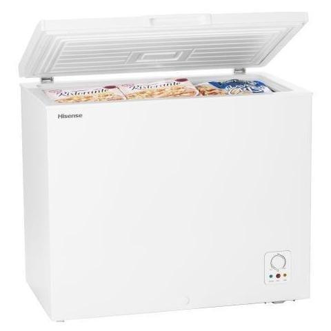 HISENSE Congelador Horizontal FC267D4AW1 Clase A Capacidad Neta 205 L, Color Blanco