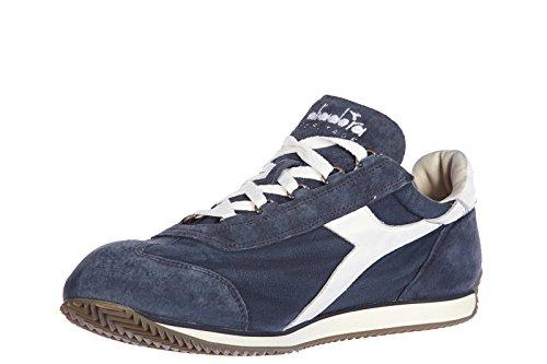 Diadora Heritage chaussures baskets sneakers homme en daim equipe stone vintage