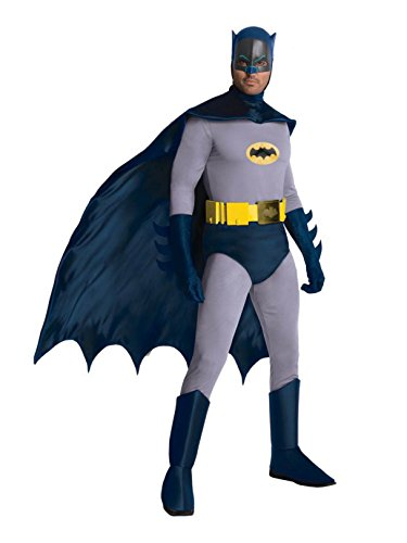 Rubie's Grand Heritage Classic TV Batman Circa 1966, Blue/Gray, X-large Costume -