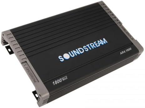 Soundstream AR4.1800 1800 Watts Arachnid Class-A//B 4-Channel Car Audio Amplifier
