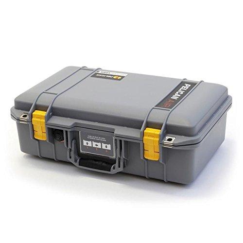 シルバー&イエローPelican 1485 Air Case With Foam。 B0799FDB7R