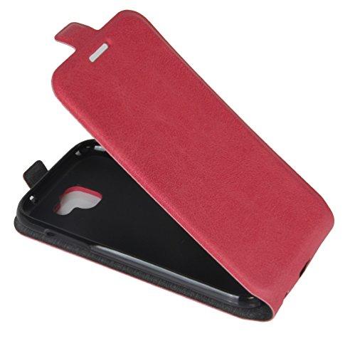 Funda LG K3(2017),Manyip Caja del teléfono del cuero,Protector de Pantalla de Slim Case Estilo Billetera con Ranuras para Tarjetas, Soporte Plegable, Cierre Magnético D