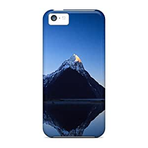 Fashion Tpu Case For Iphone 5c- Mountains Defender Case Cover