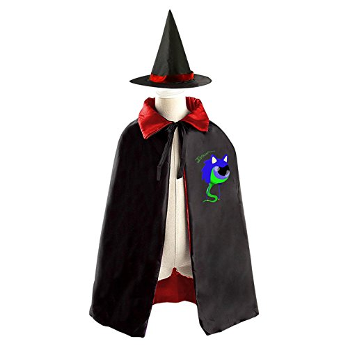 DIY Jacksepticeye Sam Best Friends Costumes Party Dress Up Cape Reversible with Wizard Witch Hat - Best Friend Costumes Diy