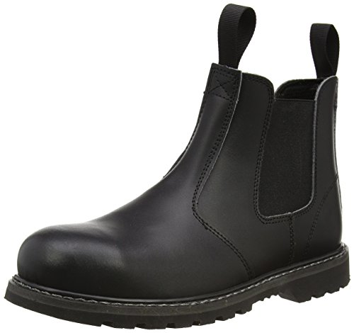 Amblers Unisex Stalen Fs5 Pull-on Dealer Boot / Dames Herenlaarzen (10 Us) (zwart)