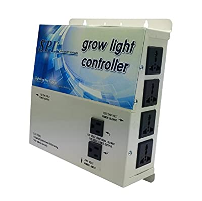 SPL 1000 STCOT 1000w 600w 400w watt 8-Plug Grow Light Controller System Without Timer 110 / 240 Volt Digital Dimmable HPS MH System