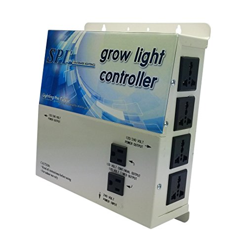 400w Tap Multi Mh (SPL 1000 STCOT 1000w 600w 400w watt 8-Plug Grow Light Controller System Without Timer 110 / 240 Volt Digital Dimmable HPS MH System)