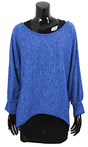 Eléctrico Pullover amp; Mujer Azul Top Emma Giovanni wqUYWxvw1g