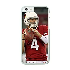 NFL iPhone 6 Plus White Cell Phone Case Arizona Cardinals QNXTWKHE1382 NFL Phone Case Cover Personalized Protective