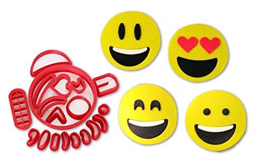 Emoji Cookie Cutter Set