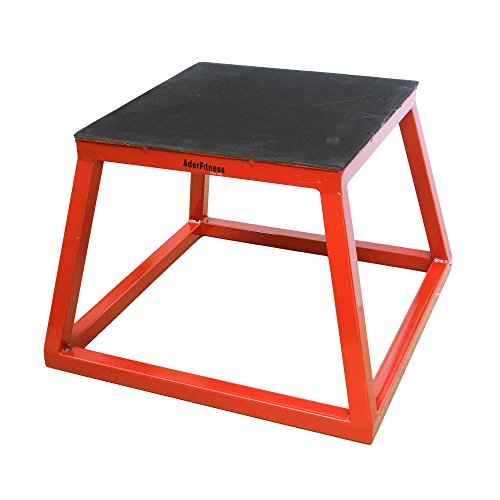Ader Plyometric Platform Box- 12'' Red by Ader Sporting Goods