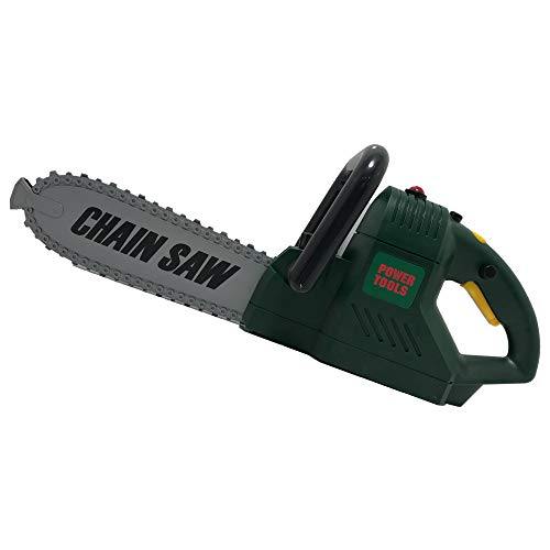 """Tornado Alley Distributors 15"""" Large Toy Chainsaw with Battery Operated Rotating Chain + Realistic Sound + LED Lights"""