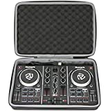 Esimen Hard Case for Numark Party Mix | Starter DJ Controller - Travel Protective Bag Carrying Storage Box (Black)