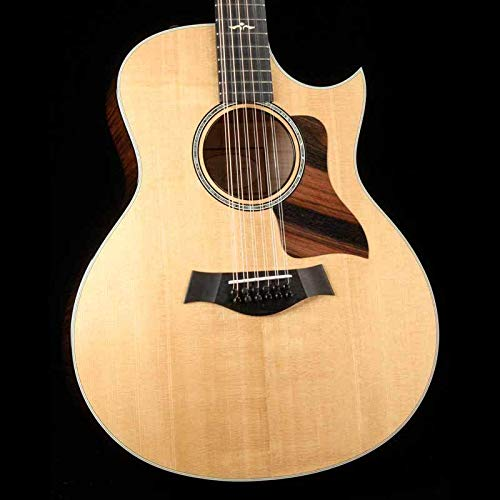 (Taylor 656ce 12-String Grand Symphony Cutaway - Brown Sugar Stain)