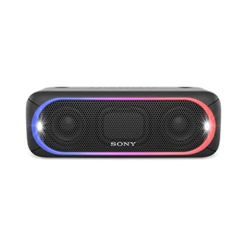 chollos oferta descuentos barato Sony SRS XB30B Altavoz inalámbrico portátil Bluetooth NFC Extra Bass 24h de batería Wireless Party Chain luz Lineal Multicolor Flash estroboscópico Color Negro