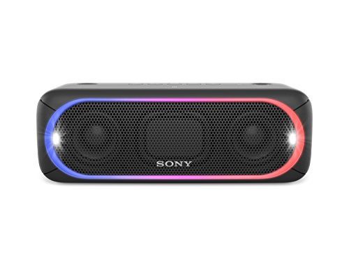 Sony XB30 Portable Wireless Bluetooth Speaker, Black (2017 Model) SRS-XB30/BLK (Certified Refurbished)
