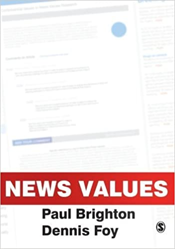 Book News Values by Brighton, Paul, Foy, Dennis (2007)