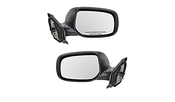 Manual Side View Mirror Passenger Right RH for 06-11 Toyota Yaris Hatchback