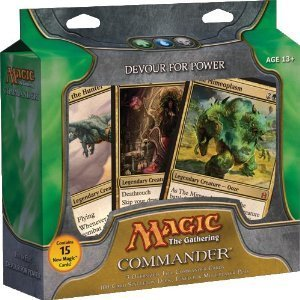 Magic The Gathering Commander (EDH) Set Devour for Power Green, Blue Black