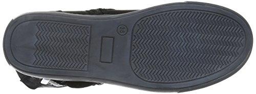 Andrea Conti 0342708, Zapatillas de Estar por Casa para Mujer Negro - Schwarz (Schwarz 002)